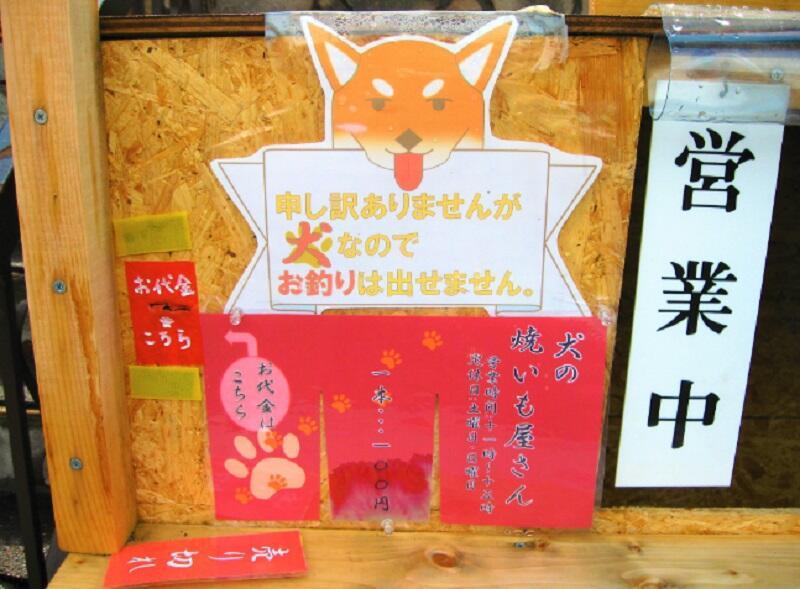 Liburan ke Hokkaido Jangan Lupa Beli Ubi Bakar yang Dijual Anjing Lucu Ini Gan!