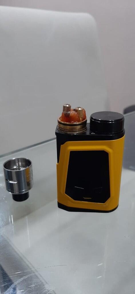 Vape iJoy CAPO 100 - Yellow 2nd Authentic
