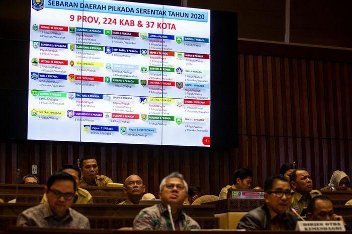 Dana hibah Pilkada 2020 capai Rp7,42 triliun di 209 daerah