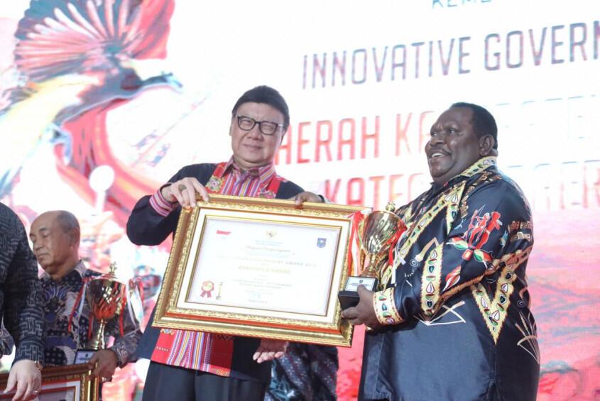 Visi Inovasi Harus Warnai Pembangunan di Seluruh Indonesia