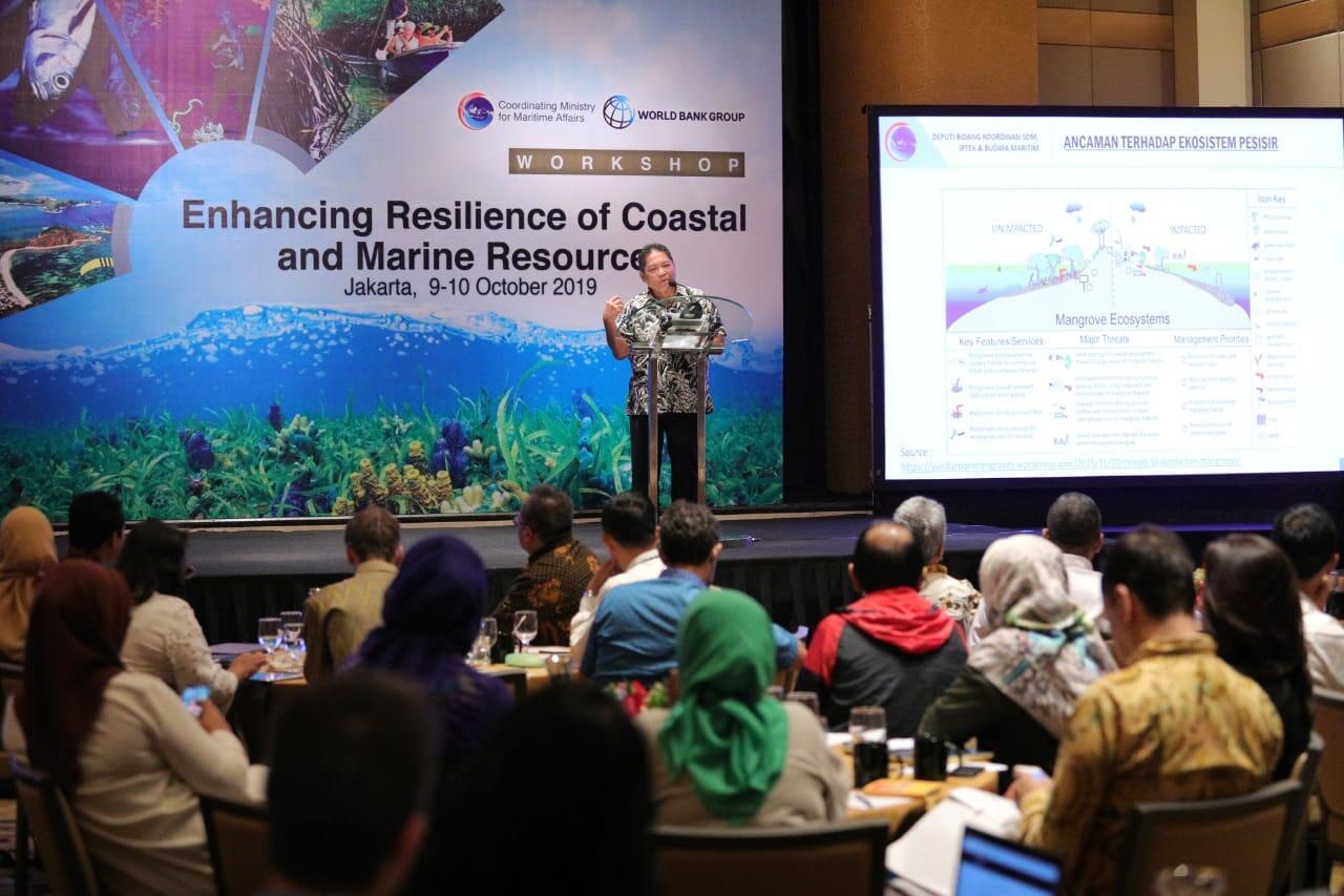 Tingkatkan Ketahanan Sumberdaya Pesisir dan Laut, Pemerintah Gelar Workshop Nasional