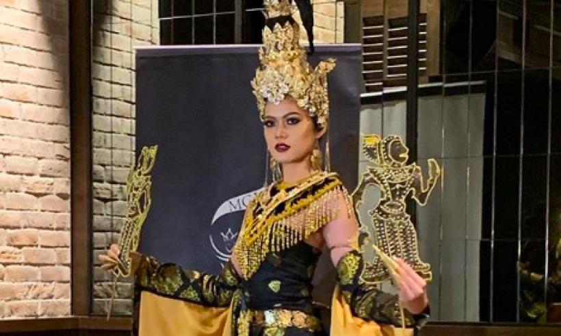 Ratu Kecantikan Malaysia Foto ala Wayang, Netizen Indonesia Geram
