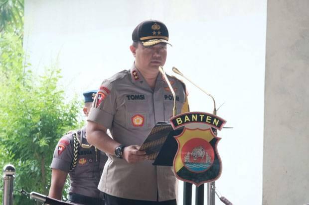 Polda Banten Dalami Motif Penyerangan Menko Polhukam Wiranto