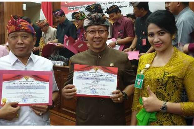 Dua OPD Pemkab Buleleng Raih Prestasi di Komisi Informasi Bali