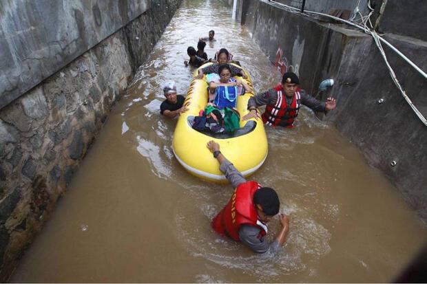 Jelang Musim Hujan, BPBD Deteksi 86 RW di Jakarta Rawan Banjir