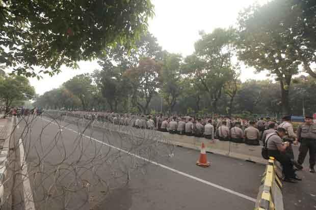 Ada Demo Buruh, Jalan Menuju Istana Negara Ditutup