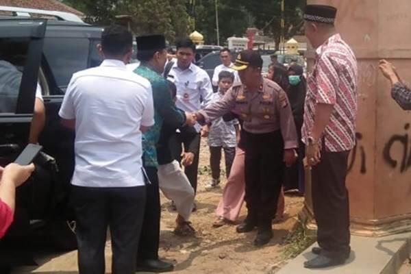 Kapolsek Pemberani yang Menghalangi Penusukan Wiranto Masih Dirawat diRSUD Pandeglang