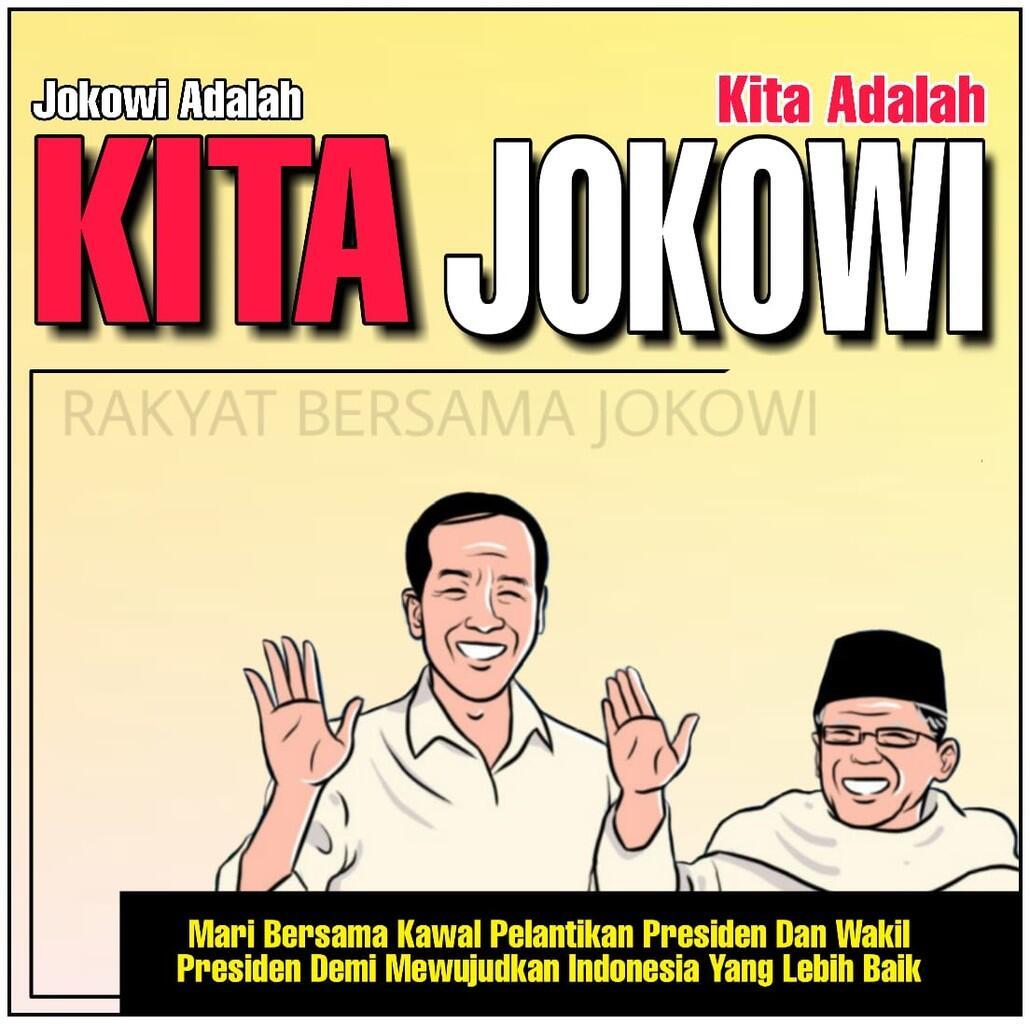 Jaga Demokrasi Indonesia, Mari Kawal Pelantikan Presidan dan Wapres RI