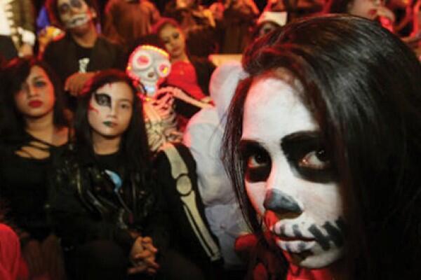 Kenangan Saat Halloween Day.