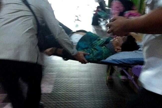Menko Polhukam Wiranto Tumbang Ditusuk di pandeglang Banten