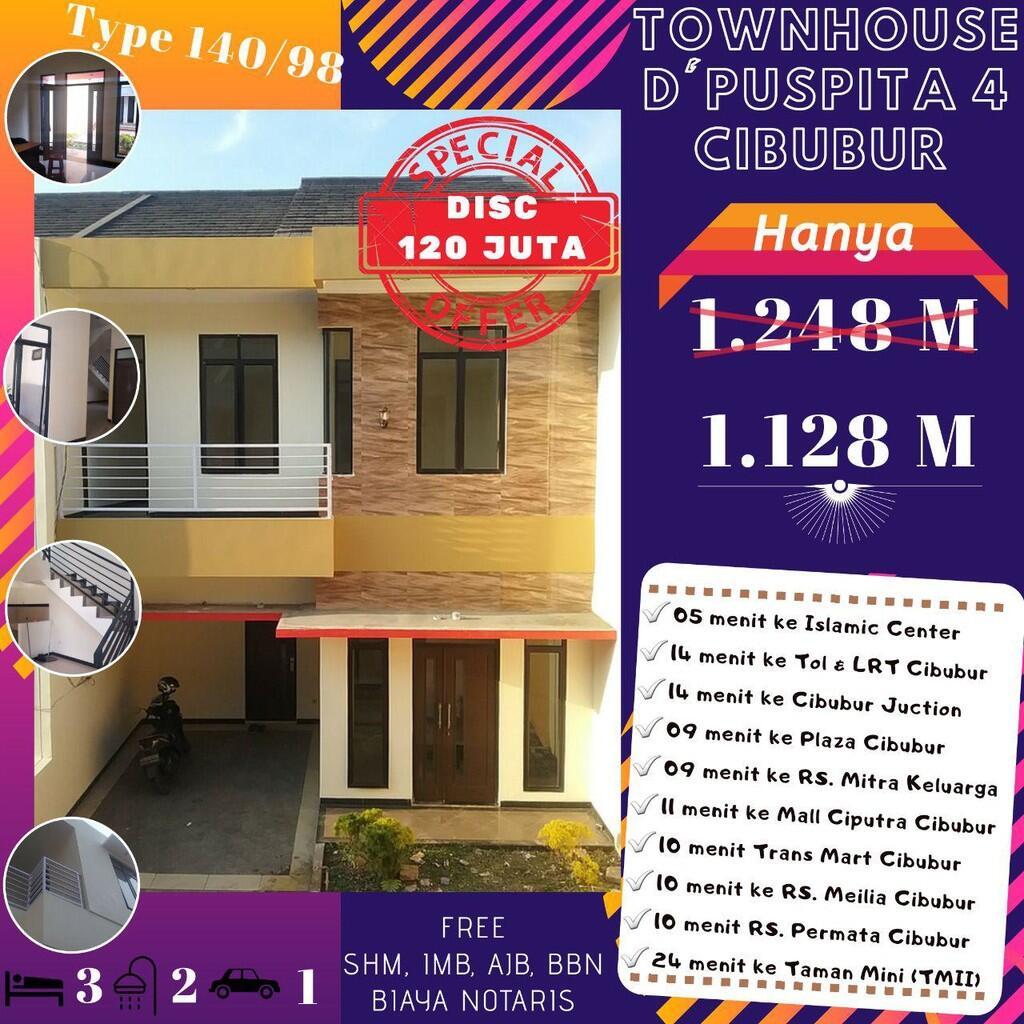 ownhouse D'Puspita Residence Cibubur