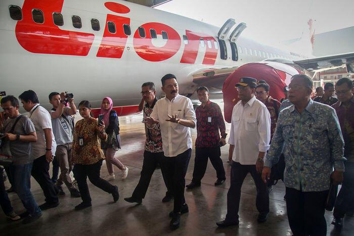 Lion Air melantai di bursa saham akhir tahun