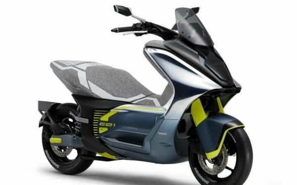 Yamaha E01, Skuter Listrik Pesaing Baru Honda PCX Electric