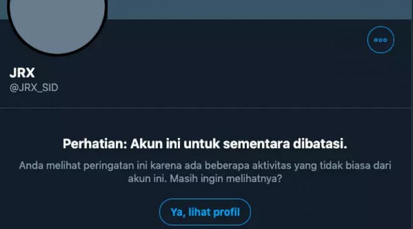 Sindir Wiranto, Akun Jerinx SID Dibatasi Twitter