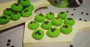 Bentuknya Bikin Geli! Ini Dia Resep Cookies Ulat Hijau dari Energen. Cobain Yuk Gan!