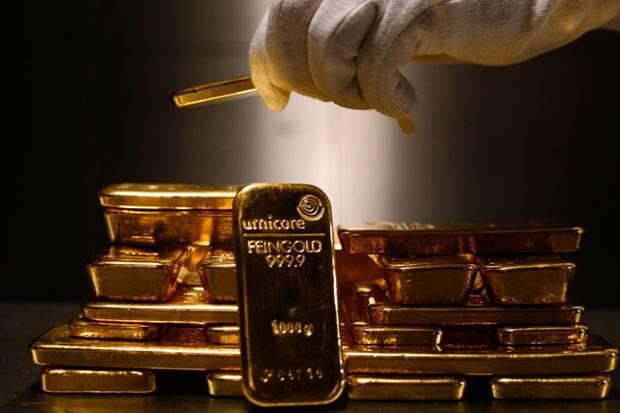 Harga Emas Antam Menyusut Iringi Kejatuhan Emas Dunia