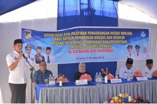 SLB Morowali Gelar Sosialisasi dan Pelatihan Pengurangan Risiko Bencana