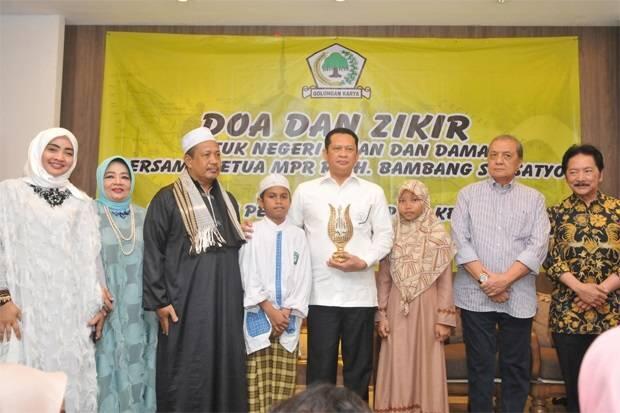 Ketua MPR Bamsoet Minta Anak-Anak Berani Jadi Pemimpin
