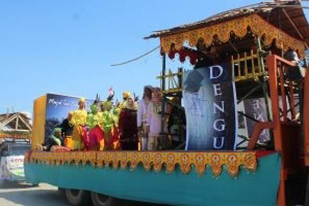 Morowali Persembahkan Tarian Luminda di Karnaval Budaya Indonesiana II