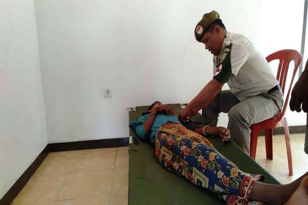 Pelayanan Kesehatan Gratis, Warga Suku Anak Dalam Datangi Posko TMMD