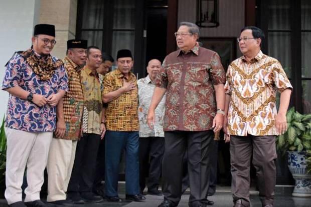 SBY-Prabowo Bertemu Jokowi, Indikasi Gerindra-Demokrat Masuk Kabinet