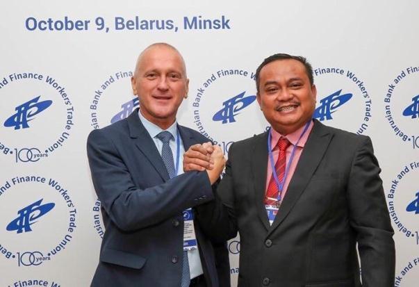 Perkuat Kerja Sama Luar Negeri KSPSI Gandeng Serikat Buruh Belarusia