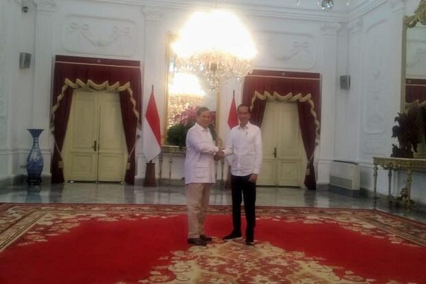 Bertemu Jokowi, Prabowo Subianto Dukung Pemindahan Ibu Kota