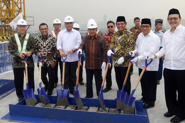 Yayasan Muslim Sinar Mas Dukung Pembangunan Gedung Dewan Masjid Indonesia