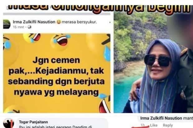 Pangdam Hasanuddin Copot Dandim Kendari karena Postingan Istrinya soal Wiranto