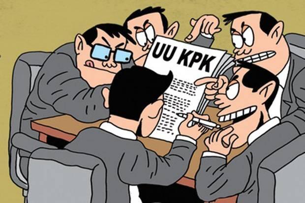 Masyarakat Diimbau Bawa ke MK jika Tak Puas UU KPK