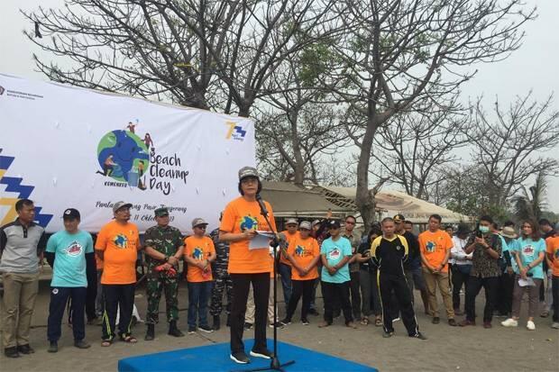 Perayan Hari Oeang Nasional, Sri Mulyani Ajak Bersihkan Laut