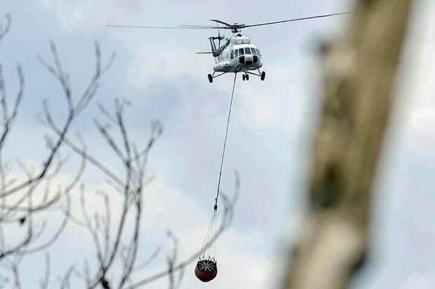 Titik Panas Capai 414 Titik, Helikopter di Riau Dialihkan ke Sumsel