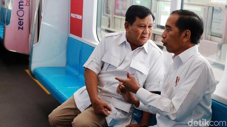 Bertemu Dengan Jokowi, Prabowo Sebut Kita Harus Bersatu