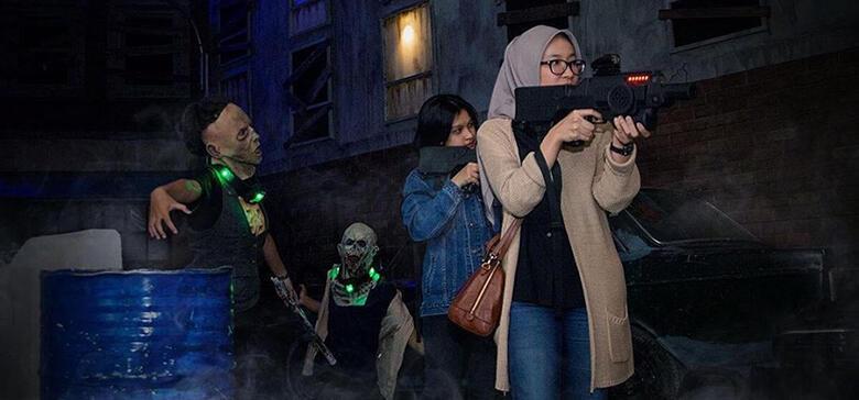 Ada Perang Zombie di Trans Studio Cibubur