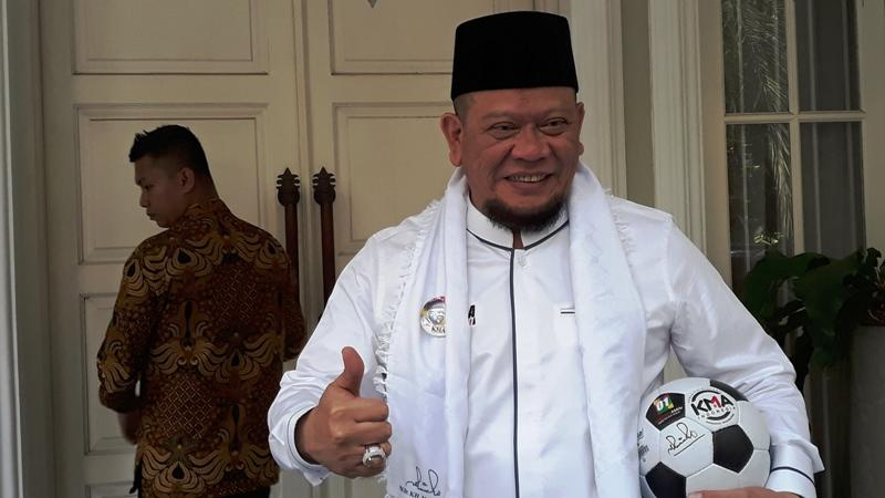 La Nyalla Calon Ketua Umun PSSI