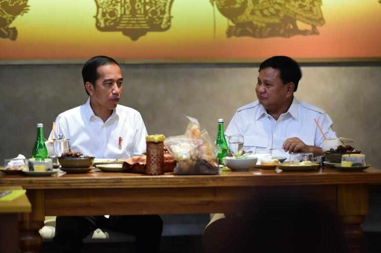 Prabowo Ketemu Jokowi, Bahas Menteri Gerindra?
