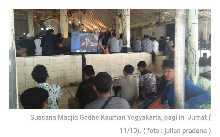 Acara Muslim United ke-2 di Masjid Gedhe Kauman Yogyakarta Tetap Digelar