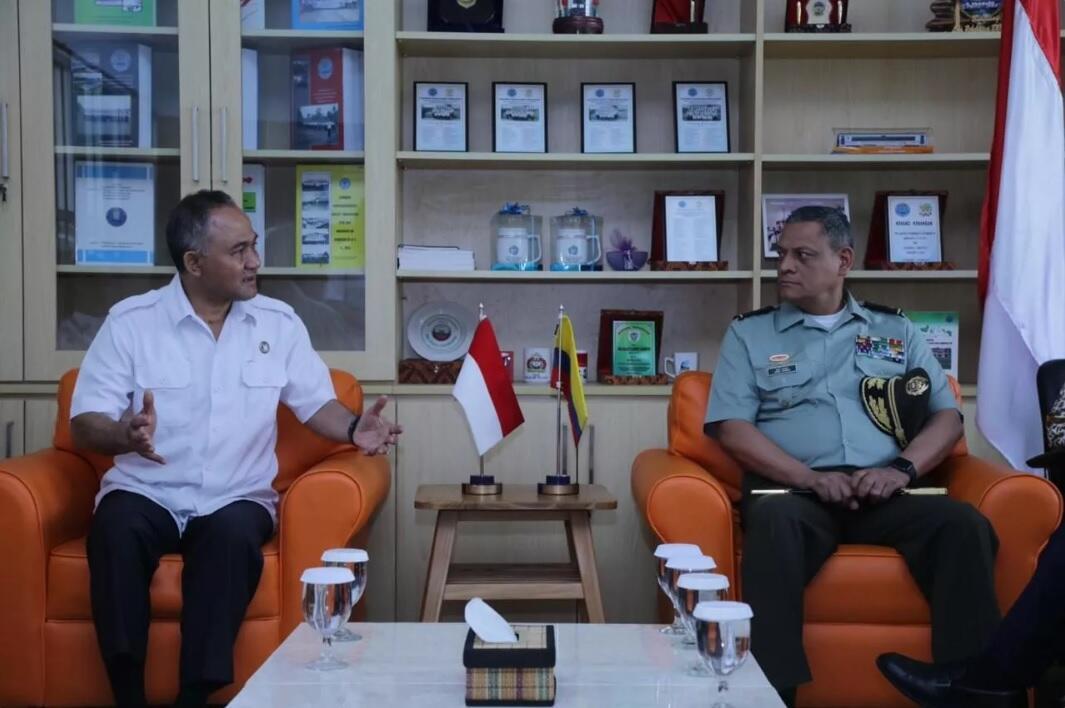 Indonesia-Kolombia Berbagi Pengalaman Pemberantasan Narkoba