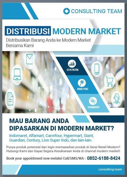 Jasa Konsultasi Distribusi Barang ke Modern Market (Indomaret, Alfamart, dll)