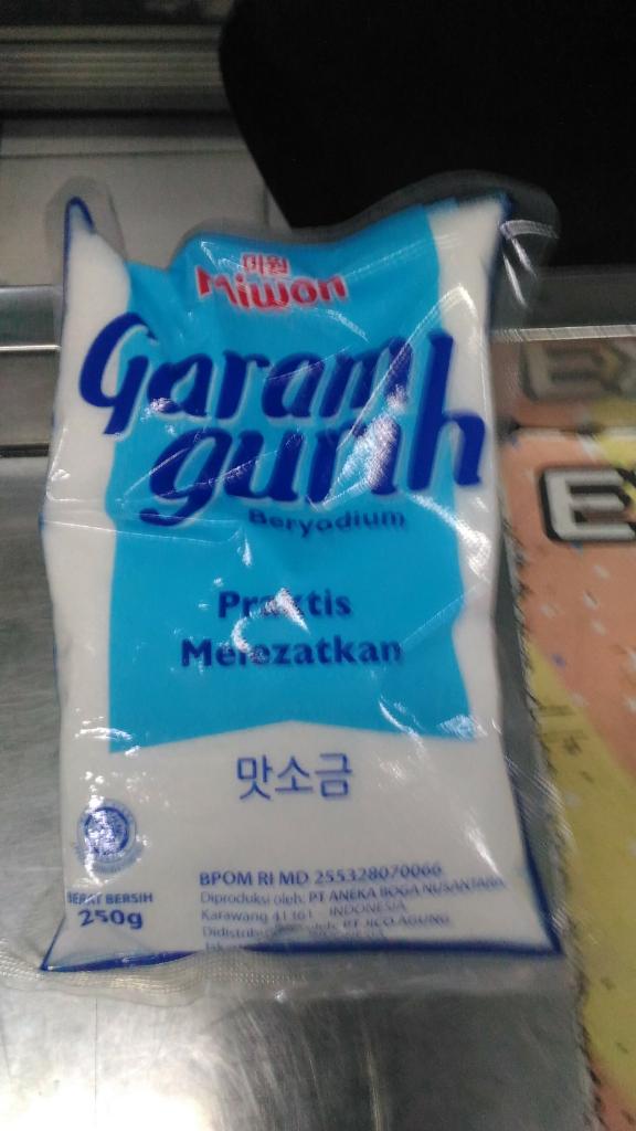 Garam, Si Asin yang Melegenda