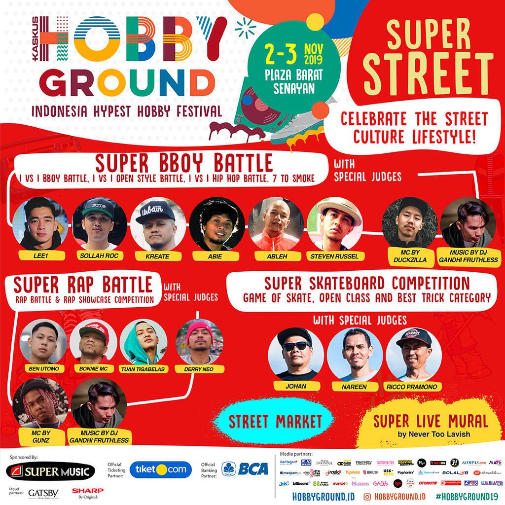 Jangan Lupa Mampir ke HobbyGround, Festival Hobi yang Paling Hype di Indonesia!