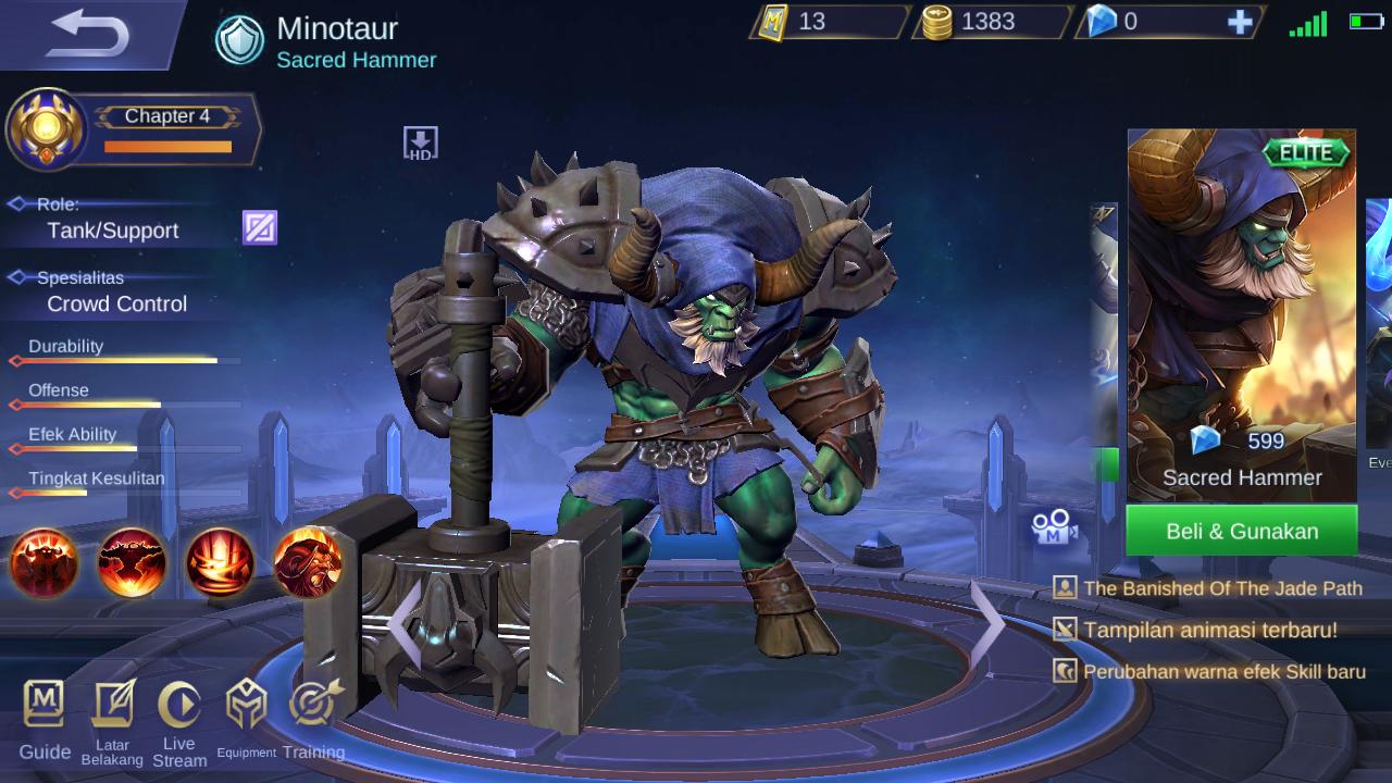 4 Hero Yang Cocok Buat Ngerank Di Tier Epic (Menurut Ane Pribadi )