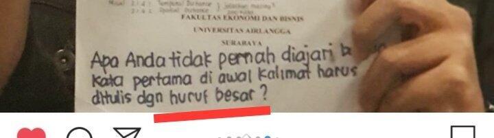 """Viral Dosen Pembimbing Menulis """"Sampah"""" Di Skripsi Mahasiswanya"""