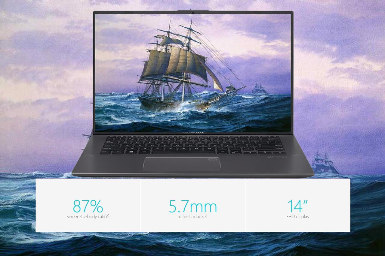 ASUS VivoBook Ultra A412DA Laptop Ringan Bertenaga Untuk Kegiatan Out Door