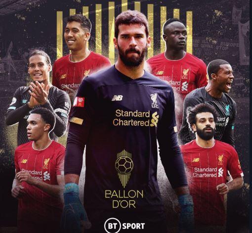 Daftar 30 Nomine Ballon d'Or 2019: Liverpool Dominan, Kemana Neymar dan Modric?