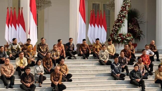 Ini Susunan Lengkap Kabinet Indonesia Maju Jokowi-Ma'ruf