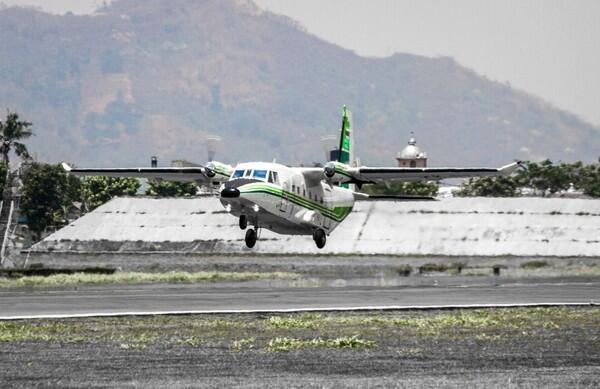 Keren! Penampakan Pesawat Made in Bandung Pesanan Thailand