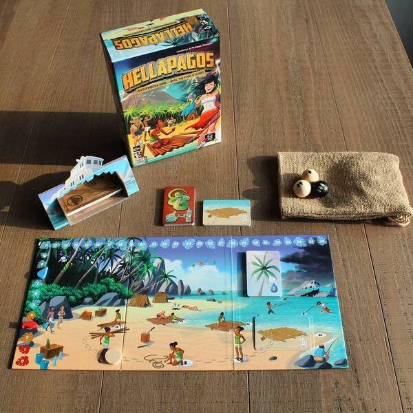 Melarikan Diri dari Pulau Antah Berantah - Main Hellapagos (Co-op Board Game)