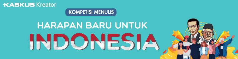 Harapan Untuk Masa Depan Indonesia Bersama Jokowi-Ma'ruf