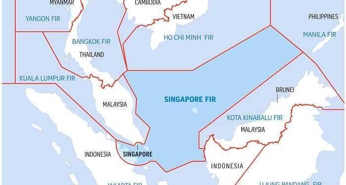 Ternyata Sebagian Wilayah Udara Indonesia Dikuasai Oleh Singapura dan Malaysia
